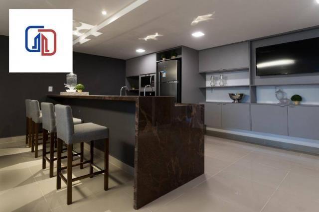 Apartamento com 2 dormitórios à venda, 62 m² por R$ 377.137 - Manaíra - João Pessoa/PB - Foto 6