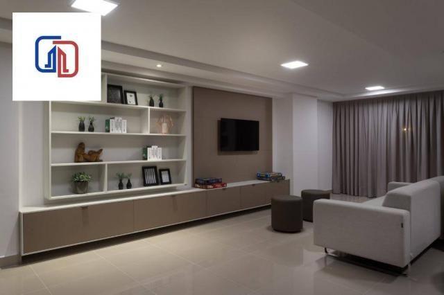 Apartamento com 2 dormitórios à venda, 62 m² por R$ 377.137 - Manaíra - João Pessoa/PB - Foto 15