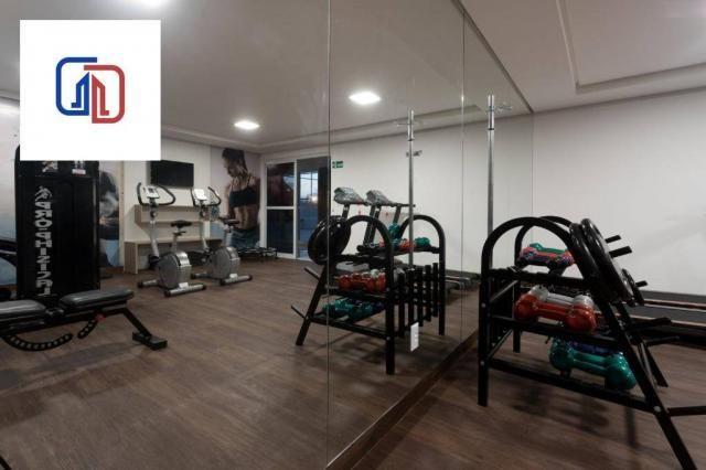 Apartamento com 2 dormitórios à venda, 62 m² por R$ 377.137 - Manaíra - João Pessoa/PB - Foto 12