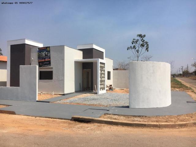 Casa para Venda em Várzea Grande, Jardim Jatobá, 3 dormitórios, 1 suíte, 2 banheiros, 2 va - Foto 9