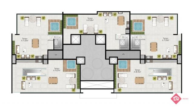 Apartamento à venda com 3 dormitórios em Praia da cal, Torres cod:1497 - Foto 8