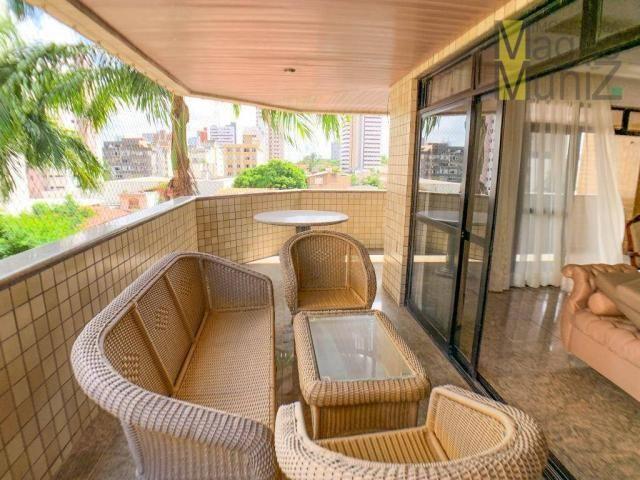 Apartamento com 4 dormitórios para alugar, 303 m² por R$ 4.200,00/mês - Aldeota - Fortalez - Foto 2