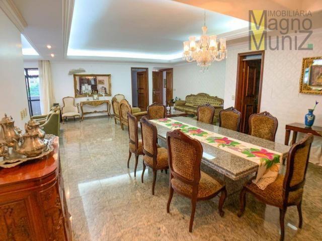 Apartamento com 4 dormitórios para alugar, 303 m² por R$ 4.200,00/mês - Aldeota - Fortalez - Foto 5