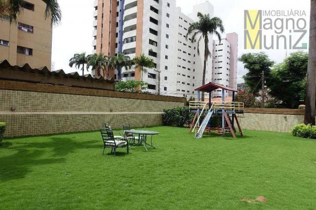 Apartamento com 4 dormitórios para alugar, 303 m² por R$ 4.200,00/mês - Aldeota - Fortalez - Foto 17