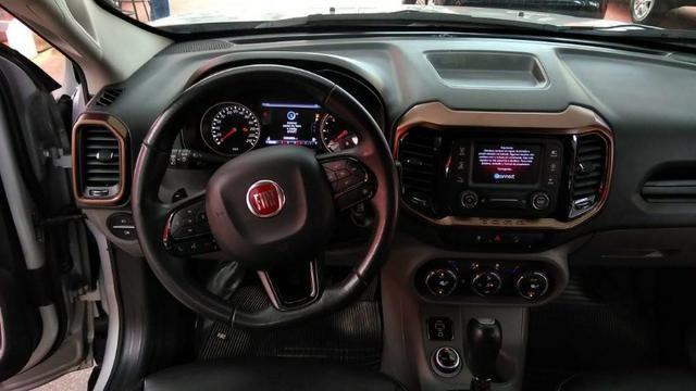Fiat Toro Volcano 2016/2017 4x4 Diesel Top Temos S10 Frontier Hilux Ranger Amarock - Foto 12
