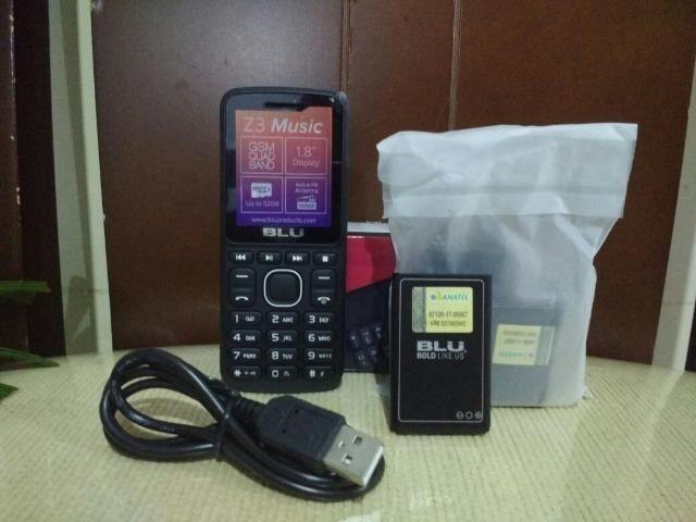 Telefone Celular Blu Z3 Dois Chips Com Câmera Original Idoso