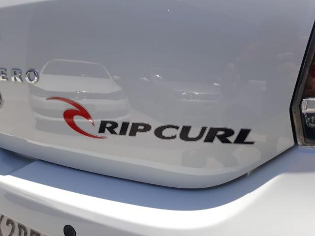 Renault Sandero Stepway Rip Curl 1.6 EasyR 2017 - Top de Linha - Foto 8