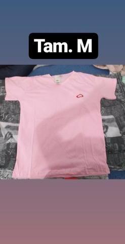 Camisas Gola V