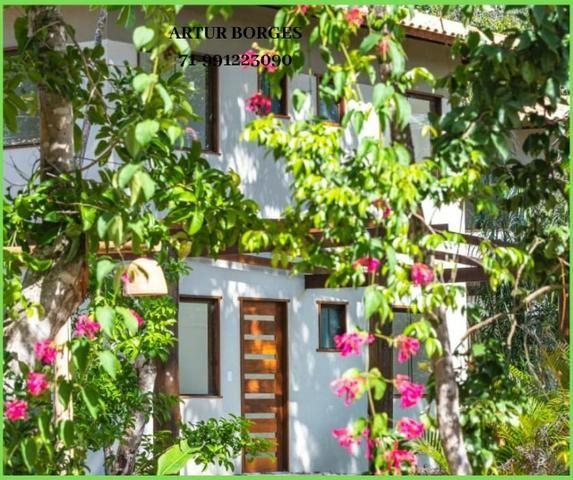 Pronto para morar Casa 4 Suítes na Praia forte, aceito seu imóvel permuta - Foto 9