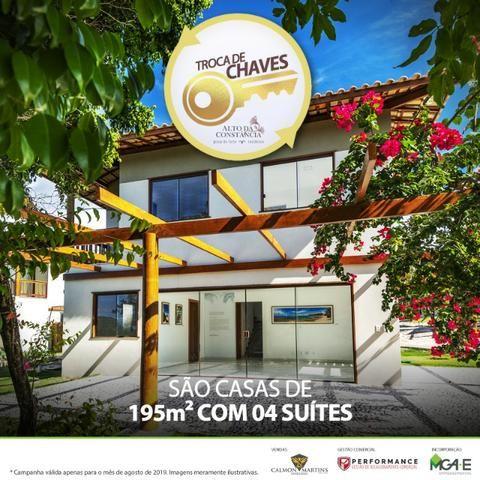 Casa 4 suítes, 195m², 3 vagas, Alto da Constância - Praia do Forte
