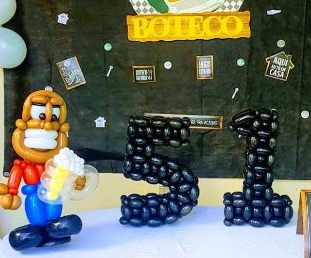 Esculturas com balões. - Foto 2