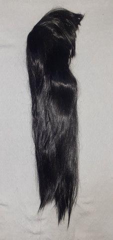 Peruca cabelos longos com franja Nova - Foto 5
