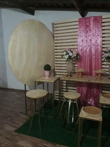 Vendo móveis para decoração de festas em perfeito estado de conservação - Foto 6