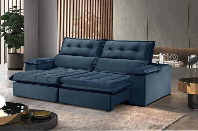 Sofa retratil e reclinavel Sao Gonçalo SUP819 - Foto 4