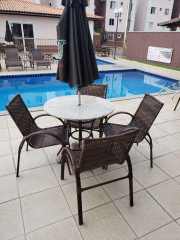 Mobília para sua piscina fabricação e recorma - Foto 4