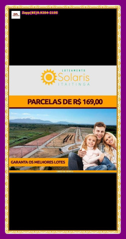 Lotes Solaris em Itaitinga { Pronto para construir} - Foto 5