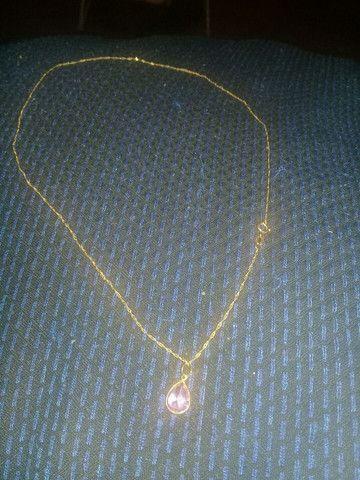 cordão de Ouro feminino vendo 350 lindo * zap - Foto 4