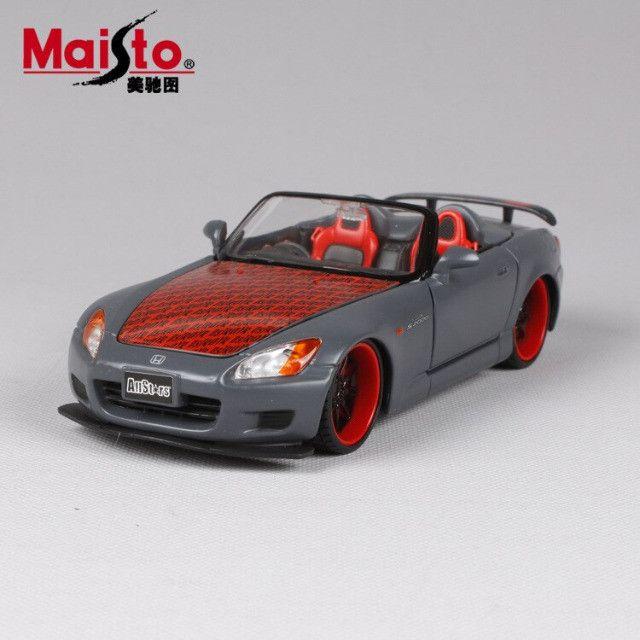 Carro Miniatura Honda S2000 1/24 Maisto