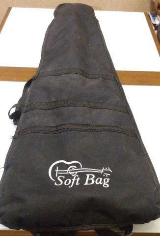 Contrabaixo Roxo Spanich - com Soft Bag - Foto 6