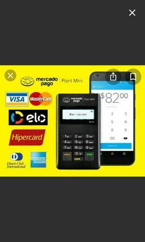 Máquina de passar cartão mercado pago - Foto 2