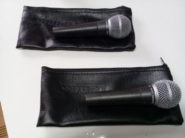 Microfone Shure SM 58 Original na Caixa