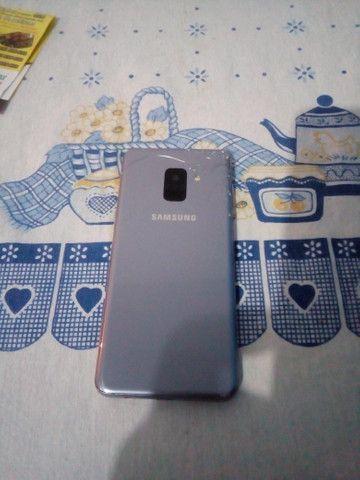 Samsung A8 64 gb vendo ou troco - Foto 4