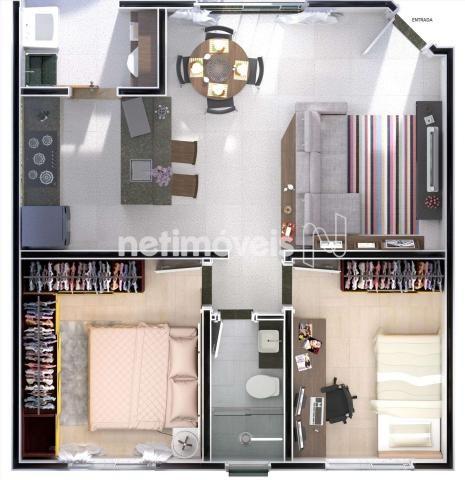 Apartamento à venda com 2 dormitórios em Urca, Belo horizonte cod:760208 - Foto 7