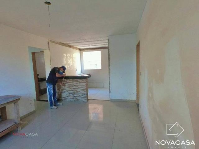 Apartamento com 3 dormitórios à venda, 60 m² por R$ 240.000,00 - Mantiqueira - Belo Horizo - Foto 2