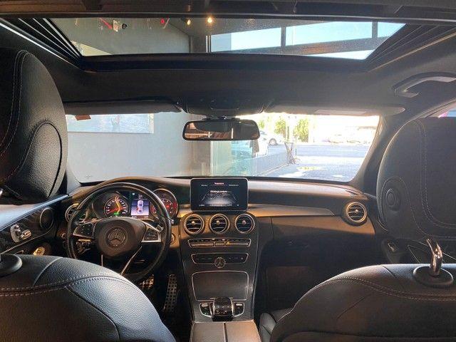 Mercedes-Benz C300 2.0 Sport 9G-Tronic 2018,Configuração Linda,Impecável  - Foto 6