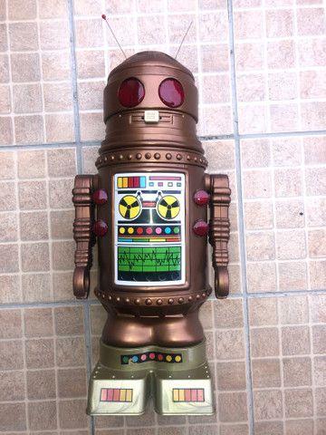 Robô Arthur - brinquedo antigo anos 80  - Foto 6