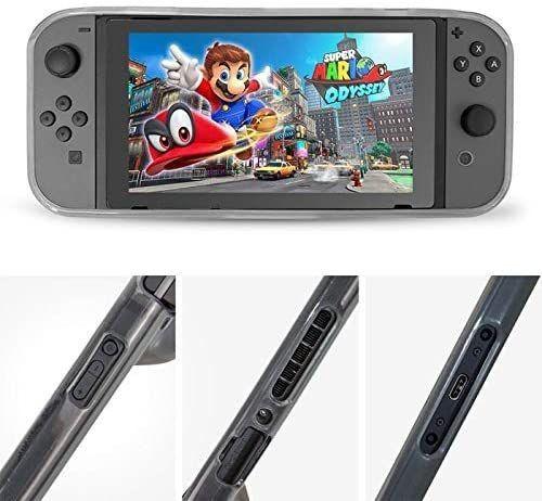 Capa Protetora Silicone Tpu Ultra Fino e Anti-Risco Para Nintendo Switch