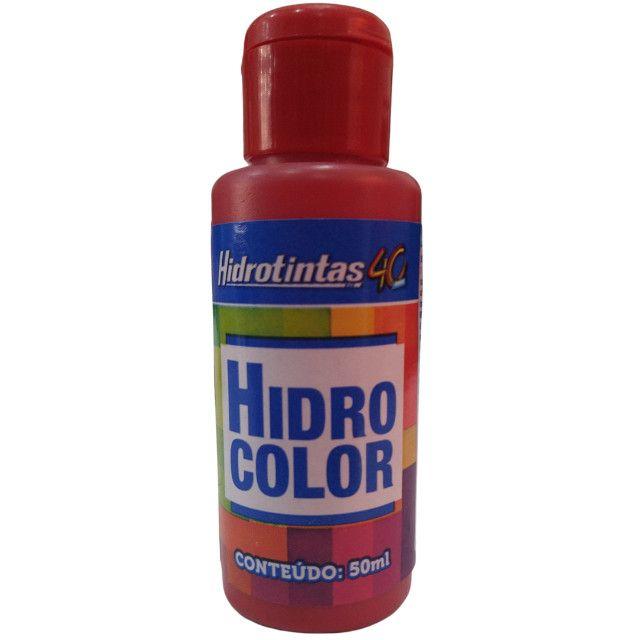 Corante Liquido Hidrocolor 50ml - Hidrotintas - Foto 4
