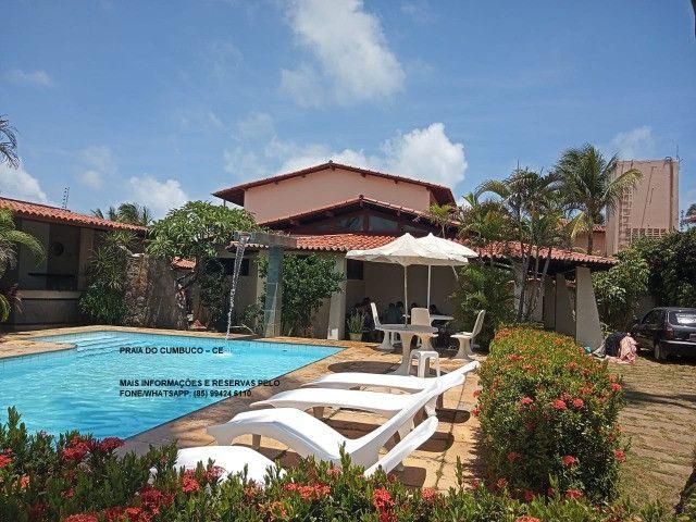 Alugo casa de praia Cumbuco R$ 650,00/Dia