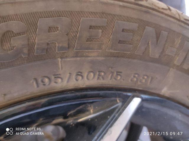 Par de Pneus Green Max Hp 010 Ling Long 195 60 Aro 15 - Foto 6