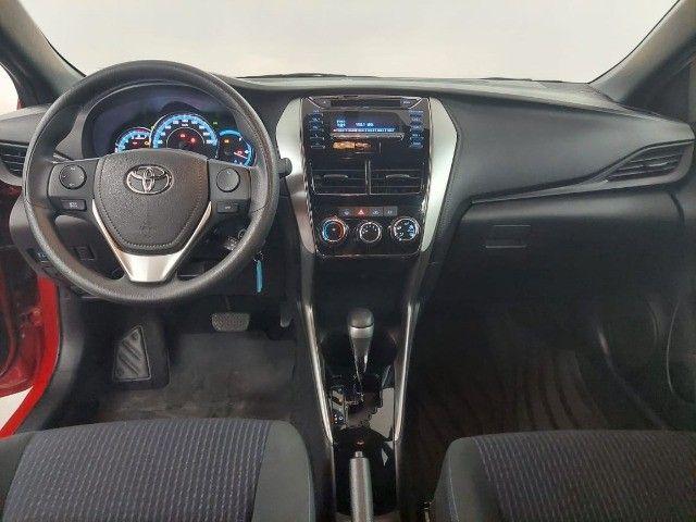 Toyota Yaris hatch XL 1.3 2019/2019 Flex 101 cv. Câmbio automático cvt - Foto 9
