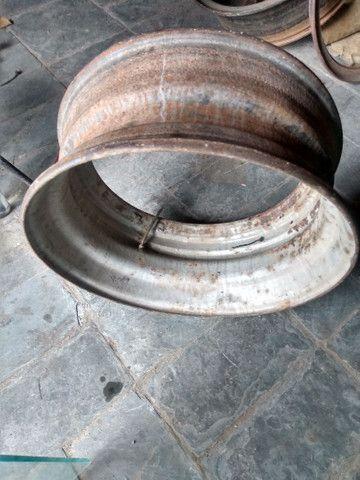 Rodas para caminhões 275/295 a disco e raiadas - Foto 5