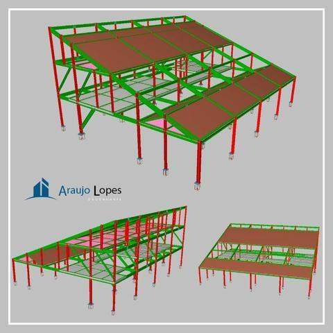 Projetos Estruturais, Laudos e Serviços de Engenharia - Foto 2