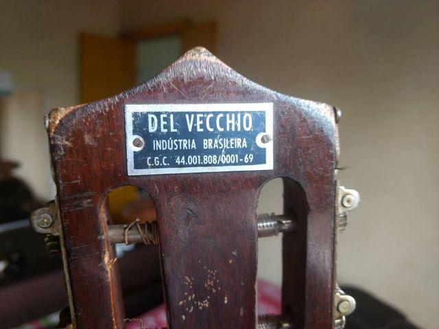 Violão Del Vecchio Antigo Raridade