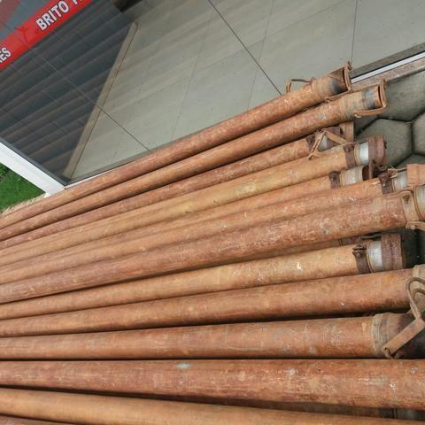 Tubo de Irrigação 4 polegadas aluminio