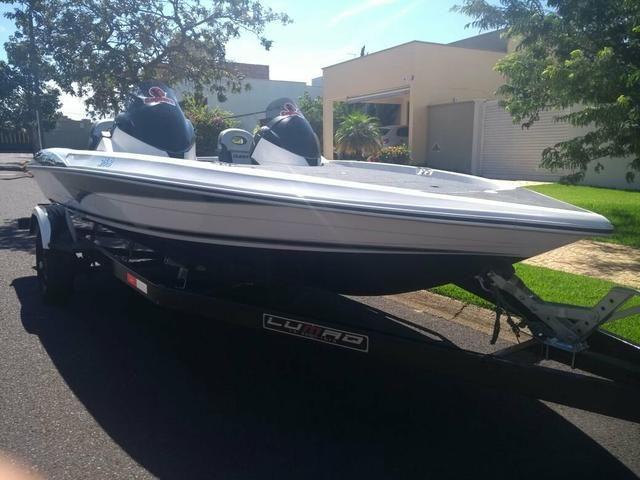 Bass boat quest 268 zero