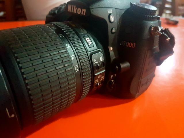 Camera Nikon D7000 + Flash Sb800+ Iluminador