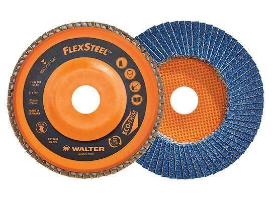 Disco Lixa Flap-disc.4.1/2 #40 Ou #60 S/ Rosca-15w456 Walter