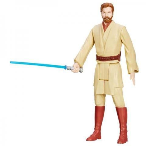 Boneco Star Wars Obi-Wan Kenobi - Hasbro - Star Wars - SOMENTE VENDA