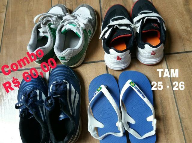 Calçado Menino TAM 25-26