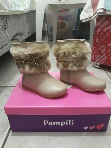 Bota Infantil Pampili número 22