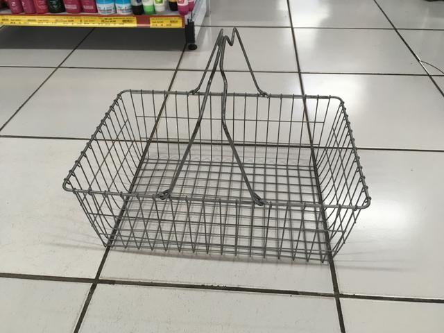 Cesta para supermercado
