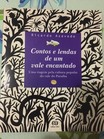 Livro Contos e lendas de um vale Encantado