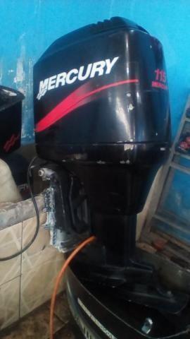 Motor de Popa Mercury 115Hp 2 Tempos Carburado