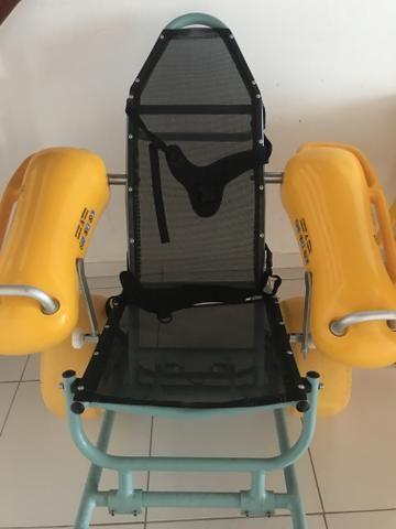 Cadeira de Rodas Para Água - Anfíbia