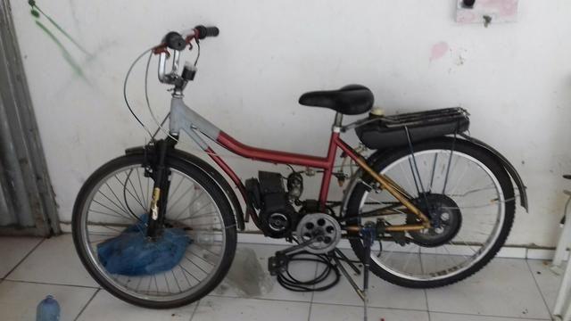 Bicicleta motorizada 2 tempo